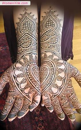 Indian Mehandi designs for hands