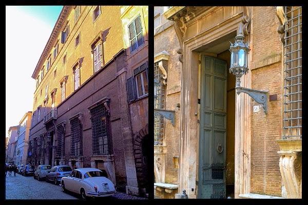 Palazzo Sacchetti na via Giulia