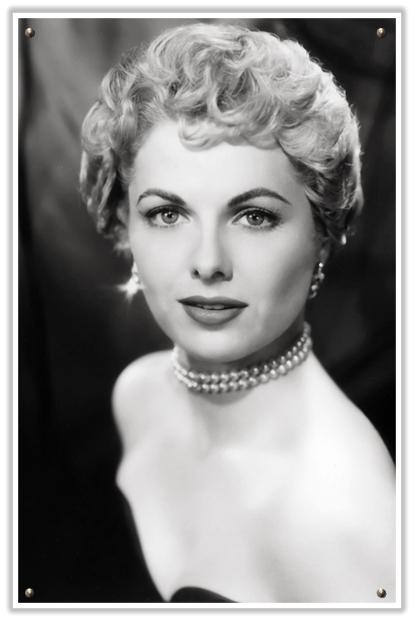 50s Hairstyles For Short Hair How To : Martha Hyer with a 1950s short curly chic hair style