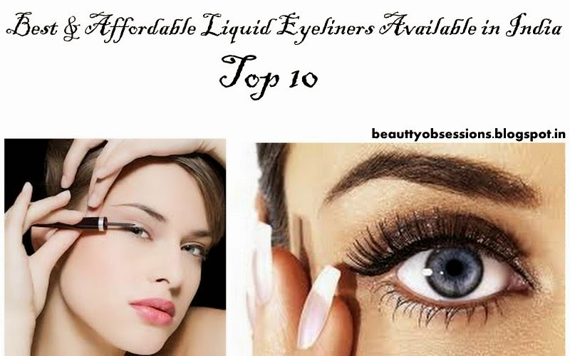 Best & Affordable Liquid Eyeliners Available in India - Top 10
