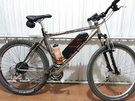 Motorización de bicicleta de montaña