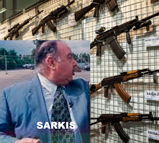 Binghamton Merchant of Death Used Car Dealer & CIA Agent Sarkis Soghanalian Shipped Guns to Saddam