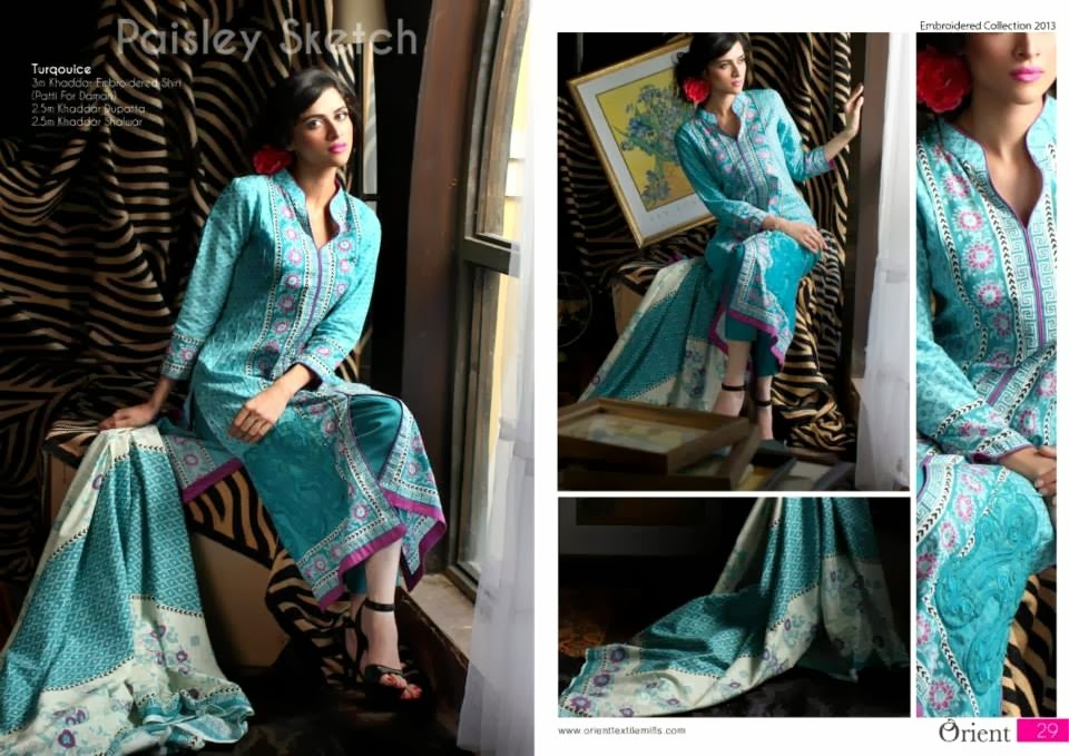 OrientTextilesKashmiriKhaddarCollection2013Vol2 wwwfashionhuntworldblogspotcom 016 - Orient Textiles Kashmiri  Fall/Winter Collection 2013 vol 2