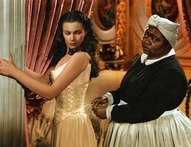 """O corset em cena de """"E o Vento Levou"""""""