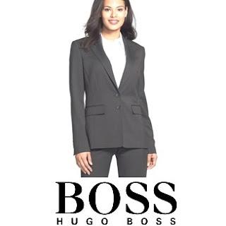 Queen Letizia HUGO BOSS Wool Women Suit