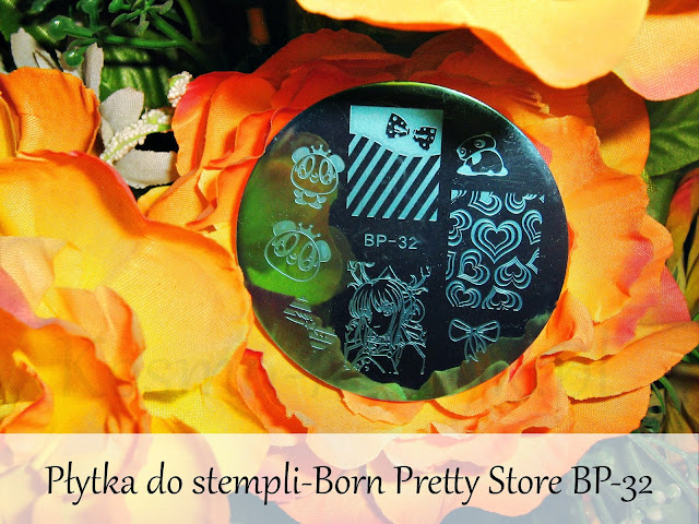 Płytka do stempli - Born Pretty Store BP-32