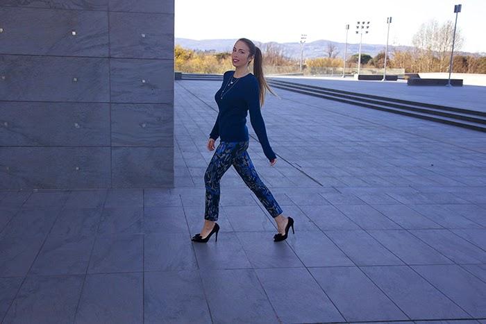 look elegant con pantaloni