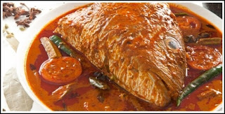 Image of curried fish-head by Indian Restaurant Assn of Singapore