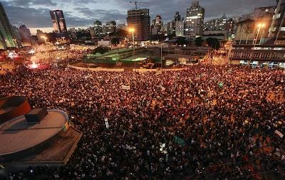 Manifestações Brasil afora