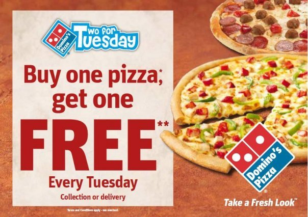 Tuesday Fast Food Sales