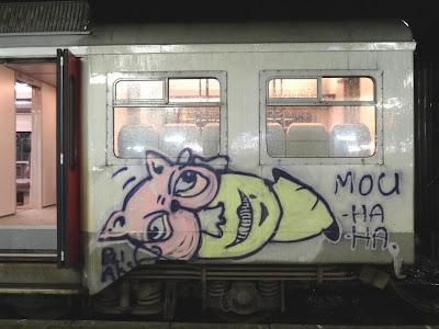 mou ha ha graffiti