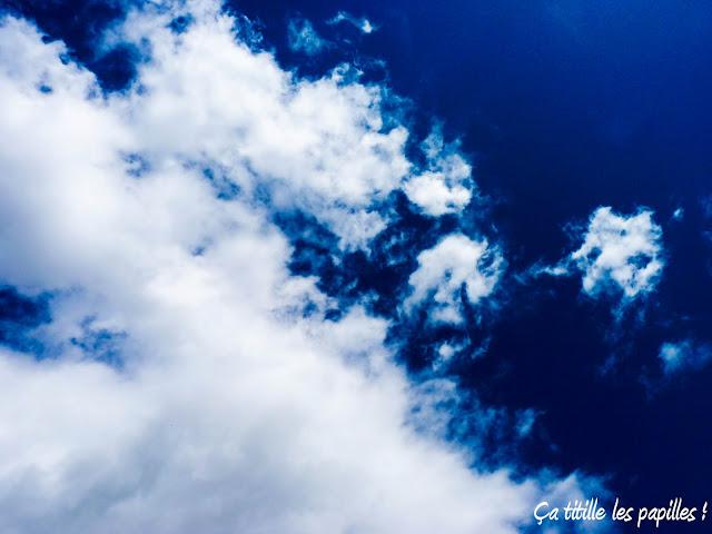 Ça titille les papilles ! Ciel, Nuages, bleu, contraste