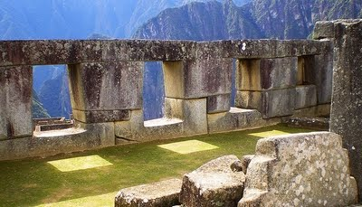 Room of the three windows, Machu Picchu, Peru