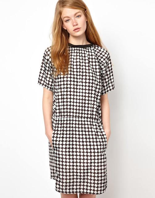 BZR print dress