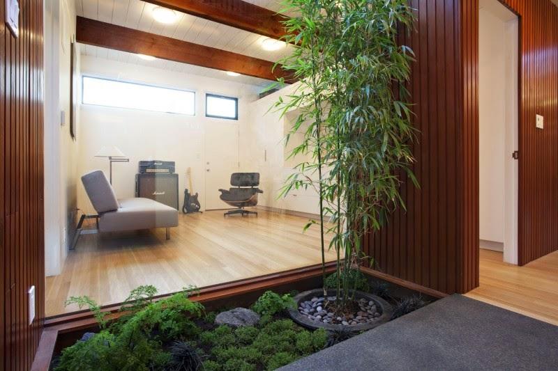 taman di dalam rumah menurut fengshui