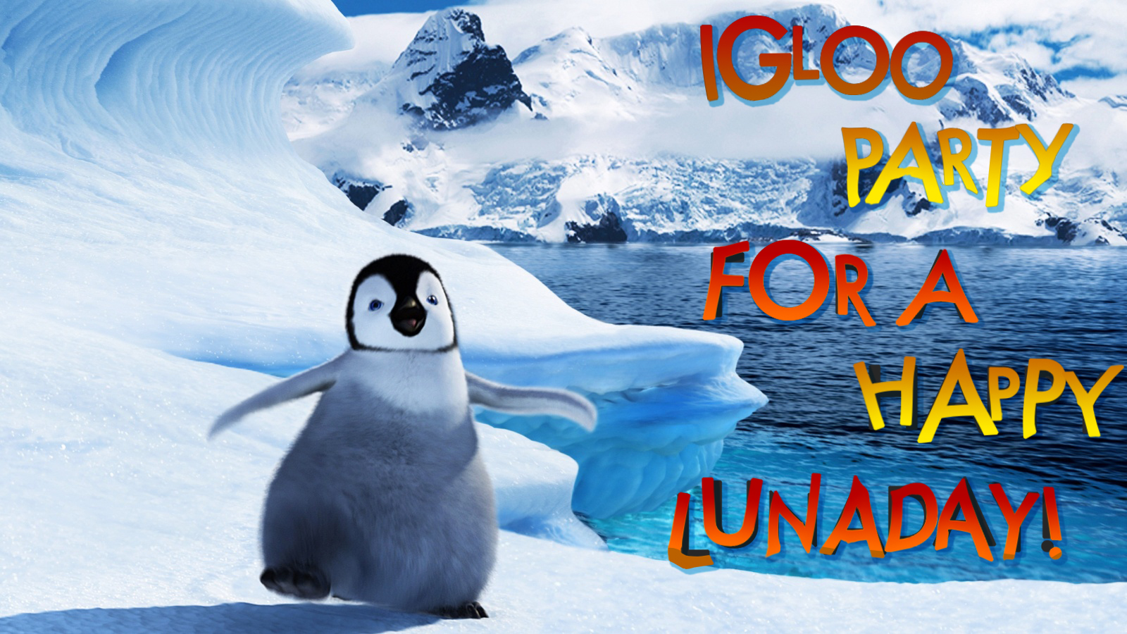 Igloo Party For a Happy LunaDay!