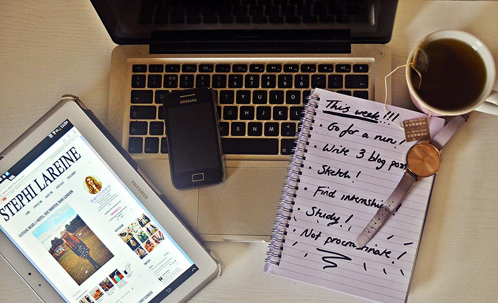 HOW TO MANAGE A BLOG, UNIVERSITY AND A SOCIAL LIFE // UK FASHION BLOGGER STEPHI LAREINE #LBLOGGERS