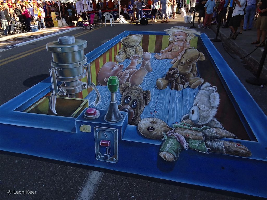 sidewalk chalk art - amazing chalk art - 3d chalk art - cool chalk art