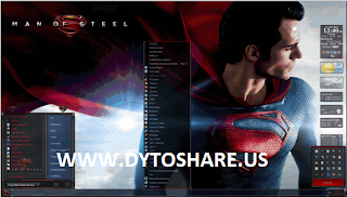 Theme Man Of Steel For Windows 7