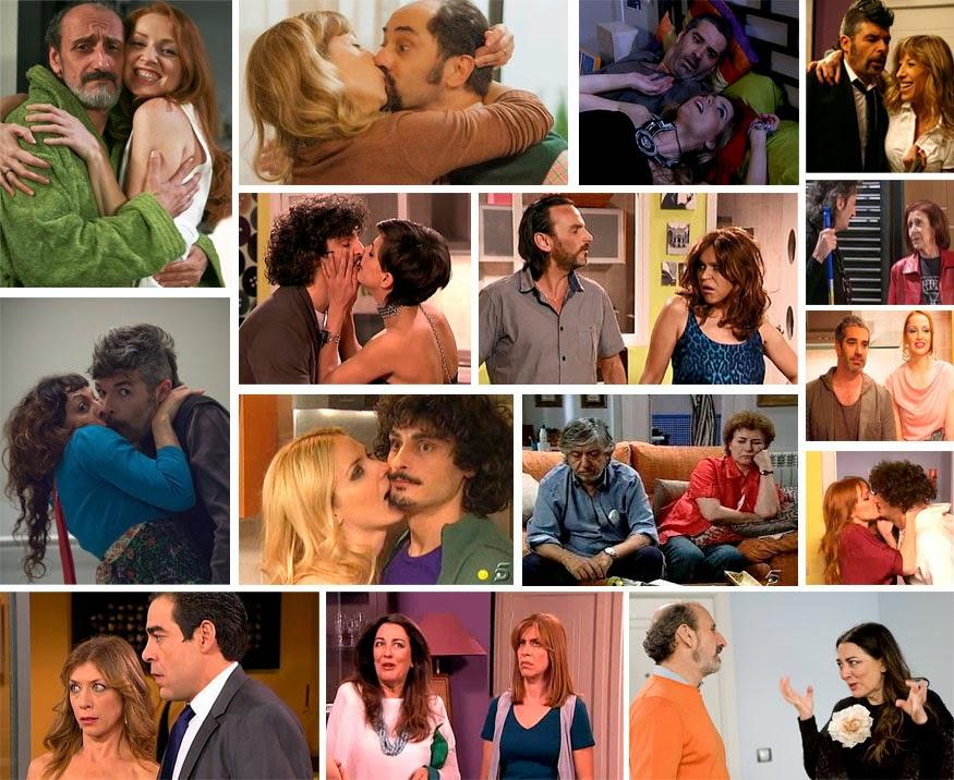 Los Cuquis, Recio y Berta, Enrique y Judith, Coque y Nines, Lola y Javi