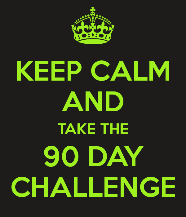 90 Days Challenge New Calendar Template Site
