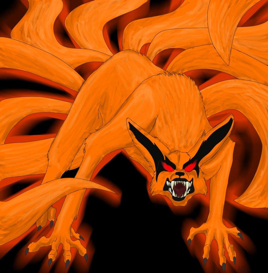 Gambar Kartun Naruto Kyubi Ekor 9 Bestkartun