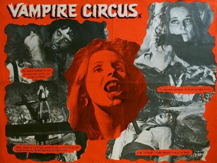 todo el terror del mundo el circo de los vampiros