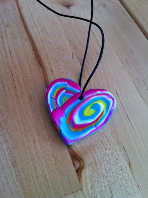 coeur en pendentif enfant
