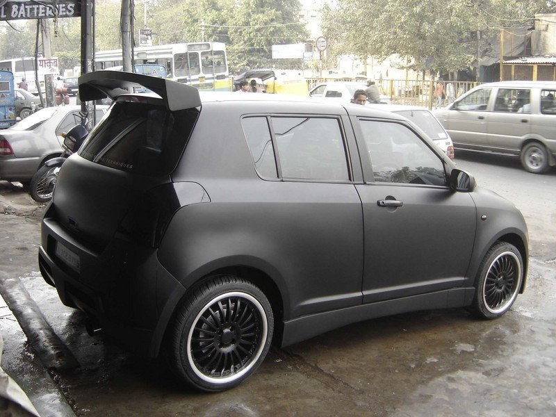 Black Swift Car Modified Modified swift cars