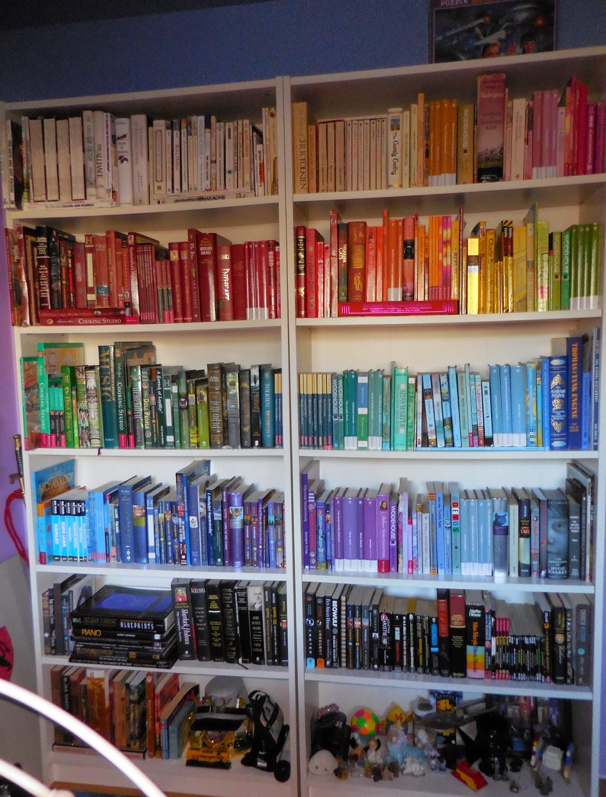 Dolls Books And Things That Matter Rainbow Bookshelves