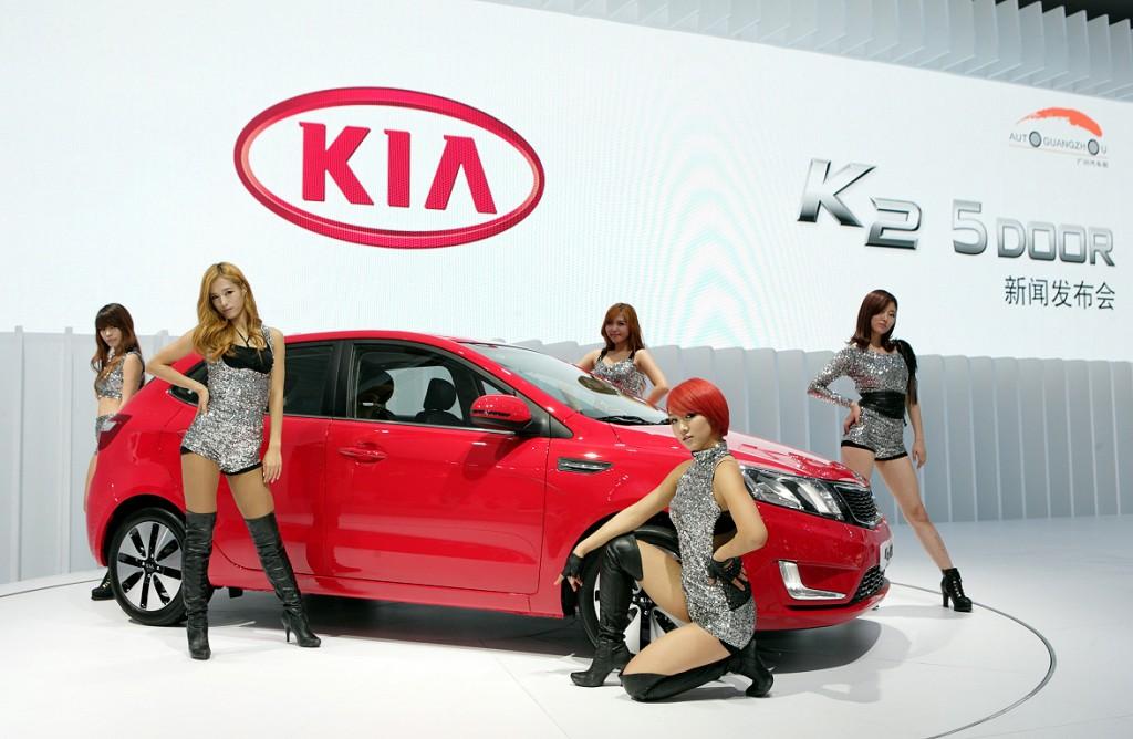 Boot Nation Car Show Girls And Boots Month Korean Day I KIA - Kia car show