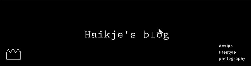 Haikje's blog