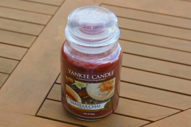 Yankee Vanilla Chai Candle