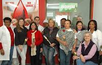 A festa de aniversário contou com a participação de doadores fiéis, funcionários da unidade e convidados