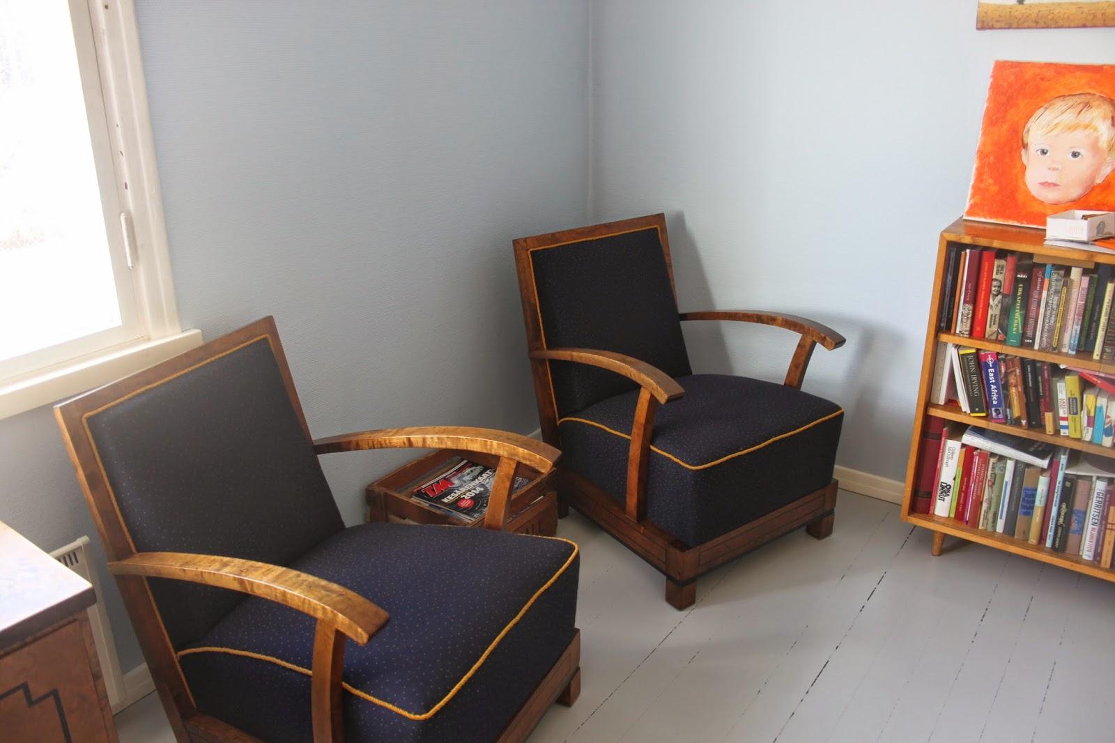 Sinikka Rommin seikkailut: Vanhat tuolit takasin kotona