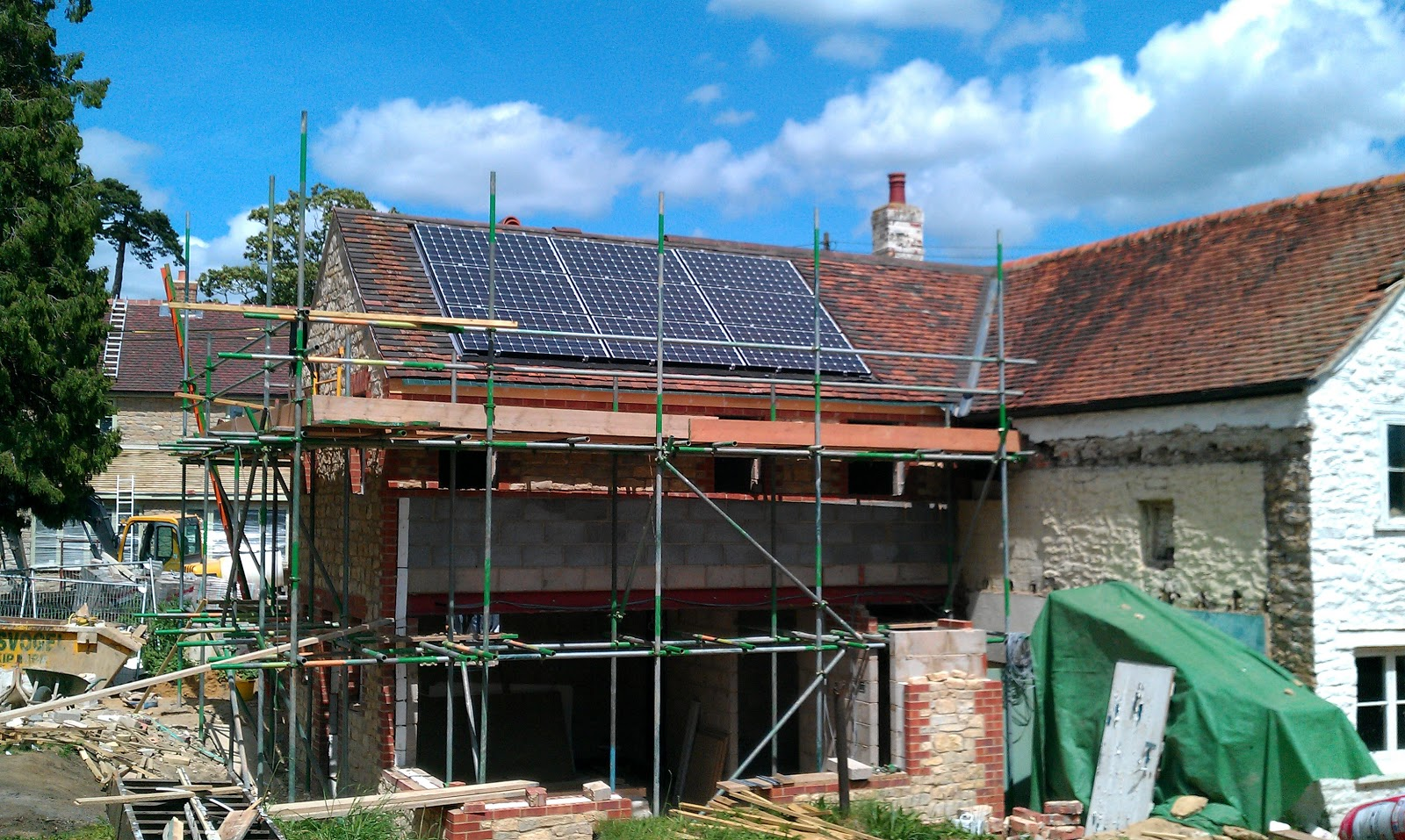 Forge House Roof Tiles And Solar Panels