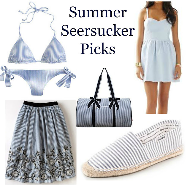 5 summer seersucker picks lilly pulitzer j crew boden preppy