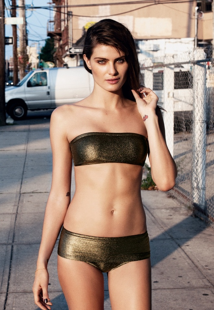 Isabeli Fontana by Angela Pennetta for Bergdorf Goodman 2012