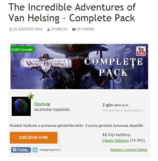 Ücretsiz Steam oyunu kazan