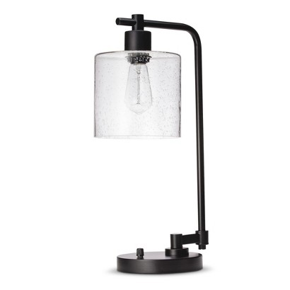 Target Threshold Seeded Glass Edison Table Lamp