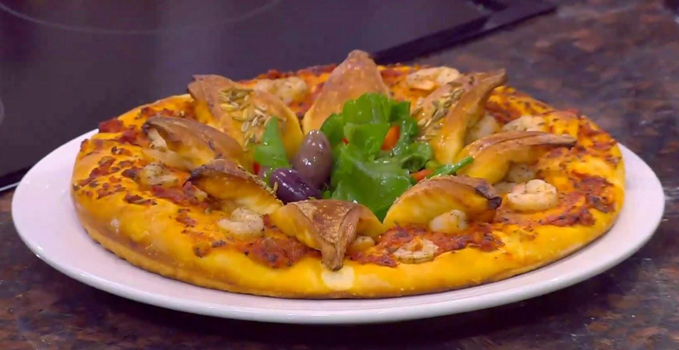 بيتزا الجمبرى