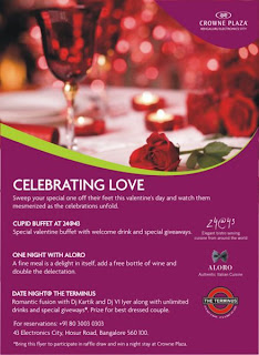 Cupid Buffet at 24@43 Bangalore
