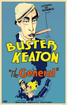 Cartel de la película : El maquinista de la General (Buster Keaton, 1926)