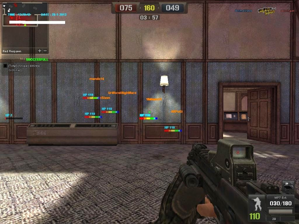 Cheat Point Blank Terbaru 24 Desember 2014 WallHack Auto Headshot Dsb