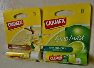 Carmex Stick vainilla y lima