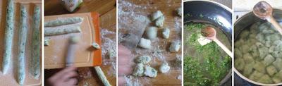 Zubereitung Bärlauch-Gnocchi