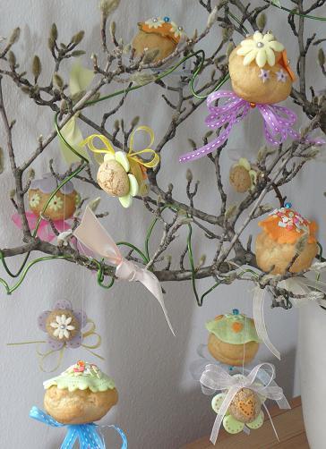 Handmade lara albero di pasqua 2012 - Addobbi pasquali per casa ...