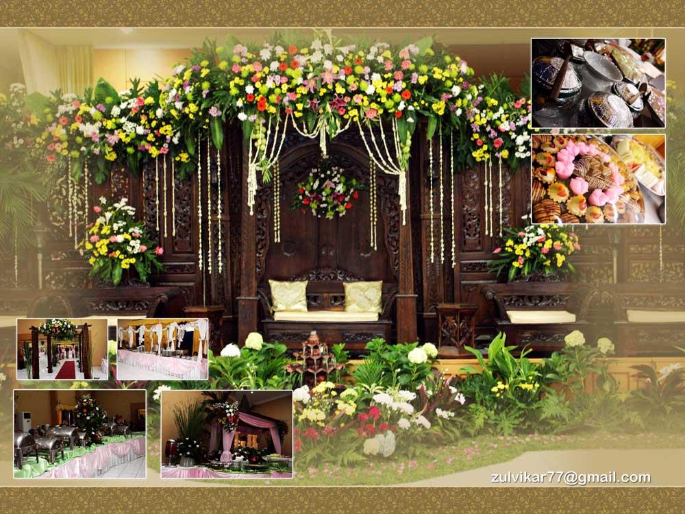 Dekorasi Gebyok Pelaminan Paket Pernikahan | Pelauts.Com