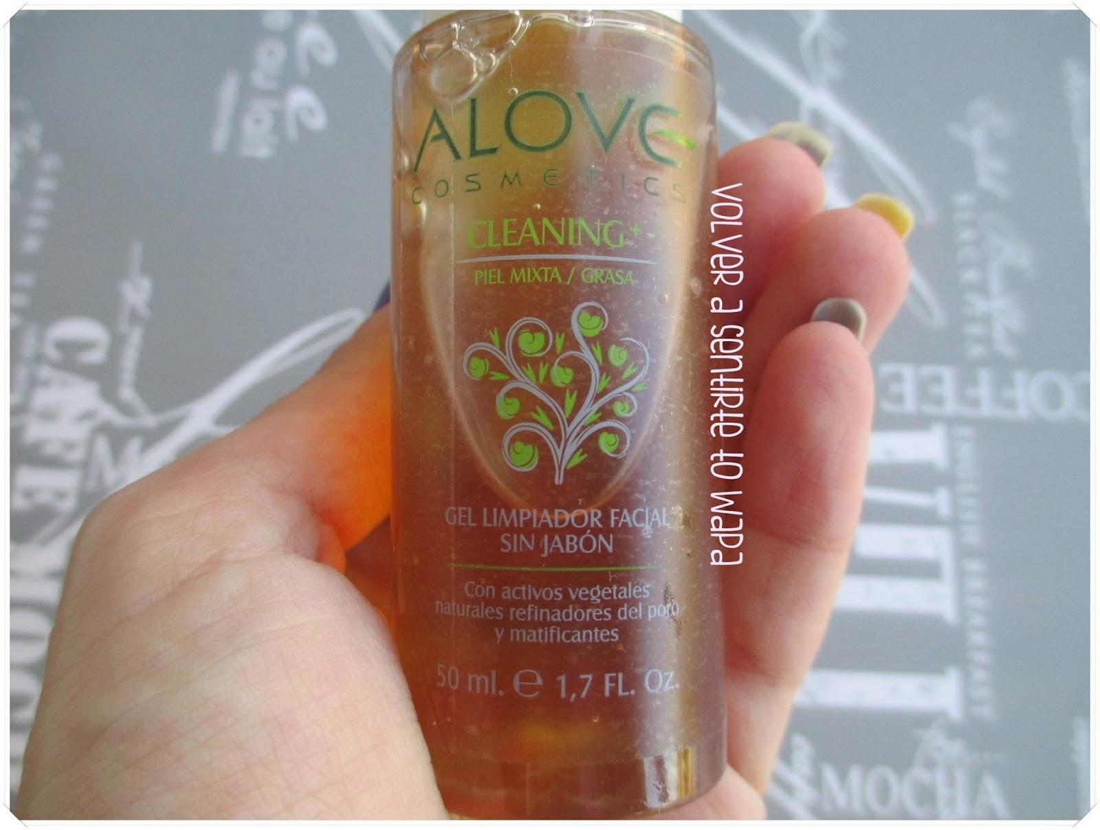 Alove Cosmetics - Gama Cleaning+ - Gel Limpiador para Piel Mixta-Grasa
