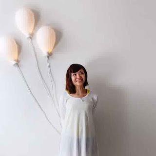 Brntuk Lampu Tidur Anak Seperti Balon Terbang